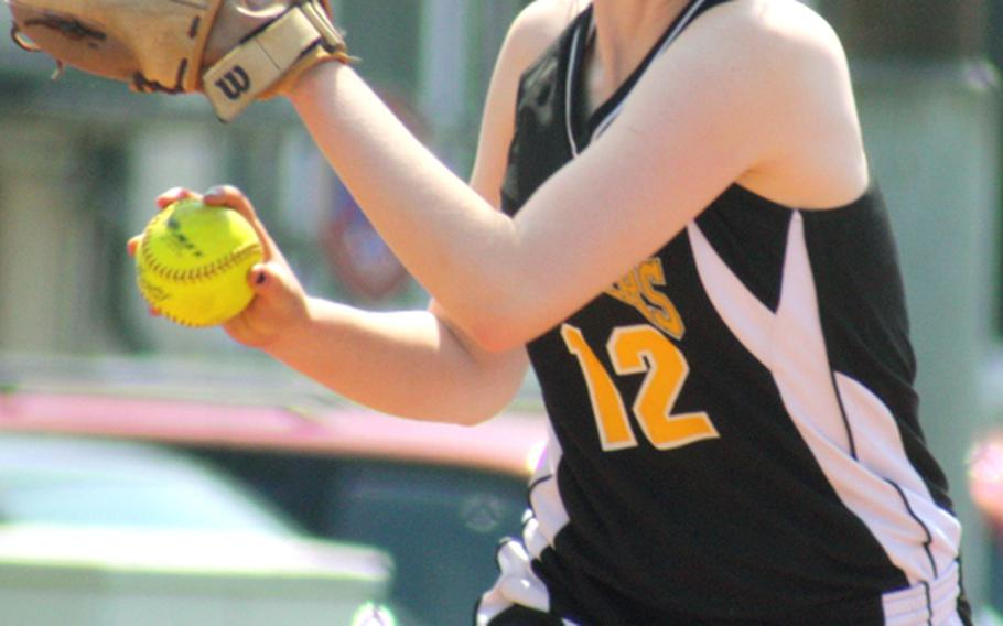 Shannon Wright, who is hitting .440 with one homer and eight doubles, is one of several players batting over .400 for the undefeated Patch softball team that is expected to challenge for the Division I title.