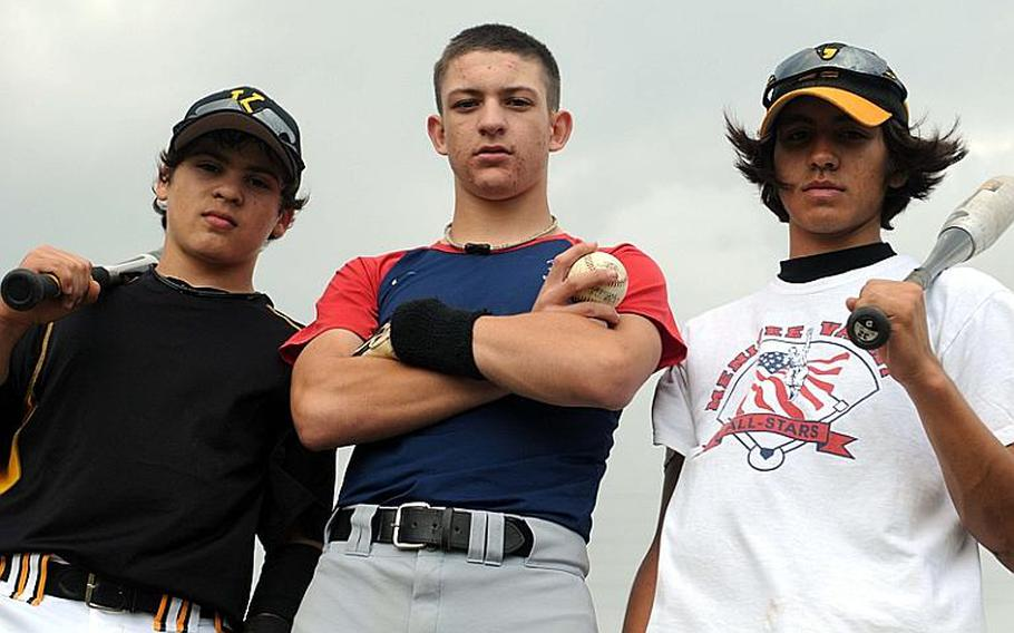 Outfielder-pitcher Cody Prince, catcher-pitcher Dominic Shea and infielder-pitcher Josh Arvizu, three freshmen starters for a Kadena Panthers baseball team long suffering as doormat for five-time island and reigning Far East Tournament champion Kubasaki, have beaten Kubasaki twice this season for the first time since 2005 and the program is showing signs of turning the corner.