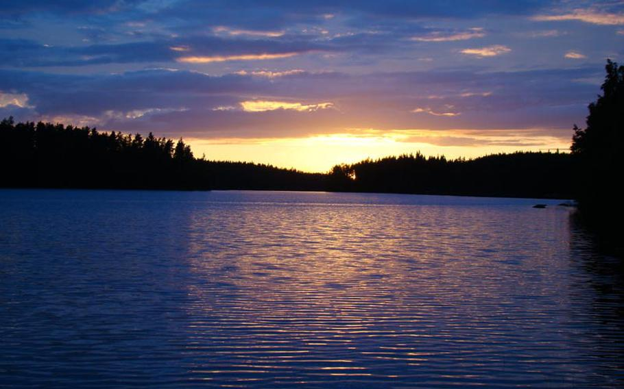 Since the sun never really sets in summer, late evenings bring hours of spectacular views in Finland.