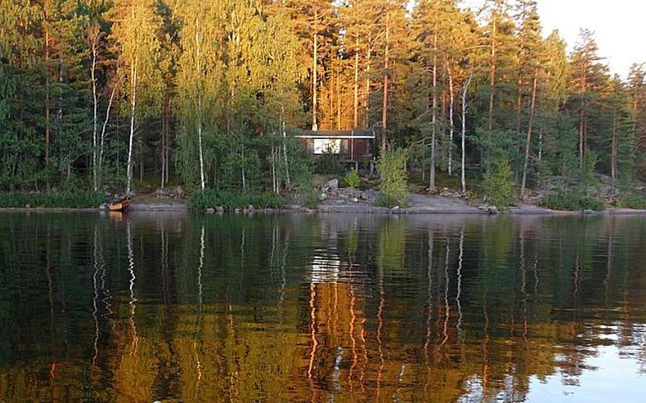 Finland's cabin homes sit comfortably close to the lakes of southeast Finland.