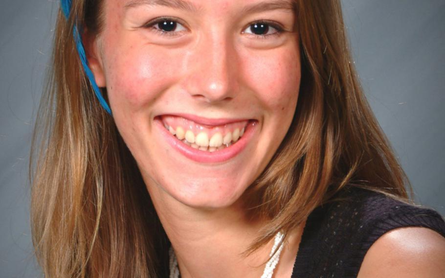 Sara Sawyer, AFNORTH middle hitter