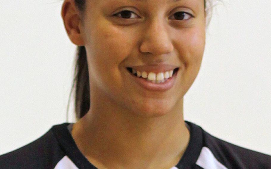 Danielle Ellis, Vicenza setter/middle hitter
