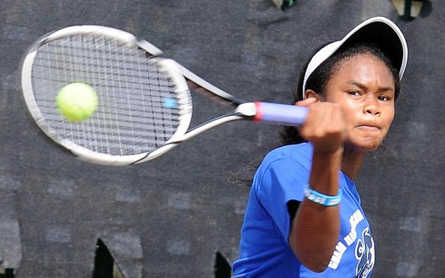 Guam High's Chloe Gadsden was named Stars and Stripes' Pacific high school girls tennis Athlete of the Year for the second straight year and to Stripes' All-Far East team.