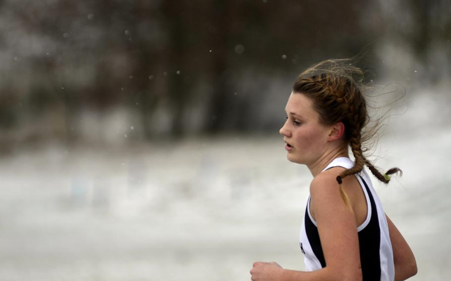Baileigh Sessions of Patch High School has been named Stars and Stripes' girls cross country Athlete of the Year.