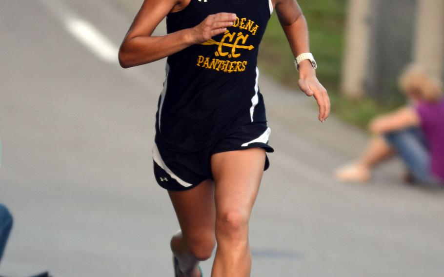 """Kadena senior Ana Hernandez, the reigning Far East girls cross country champion, says she would feel """"devastated"""" if this year's Far East meet gets canceled because of the continuing budget impasse in Washington."""