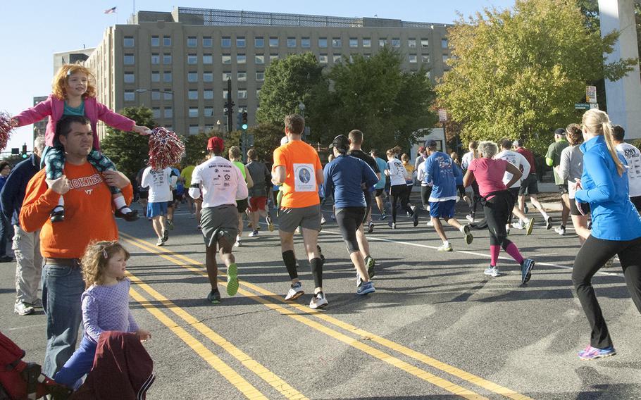 The Army 10-Miler, Oct. 20, 2013, in Arlington, Va. and Washington, D.C.