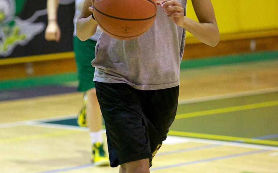 Robert D. Edgren freshman guard Essence Prince.