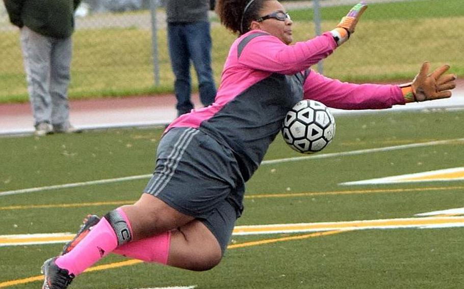 Roma Alvord is one of five seniors on the roster of the Robert D. Edgren Eagles, who won the Far East Girls Division II soccer tournament three years ago.
