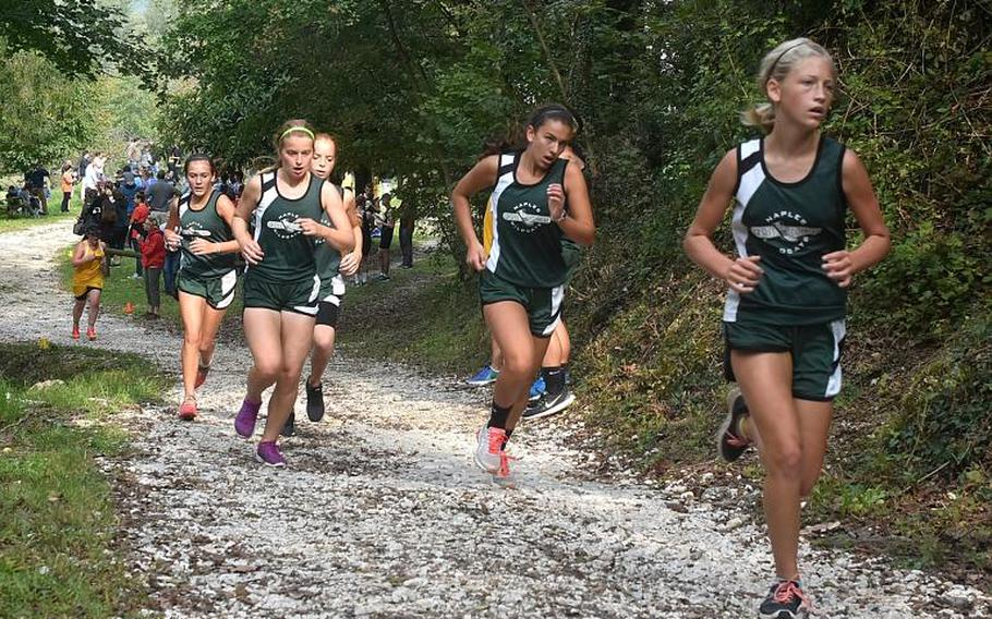 The most competitive race of the season for the Naples girls cross country team might be one to determine who gets the seven spots to compete at the European Championships. The Wildcats have plenty of depth this season.  Kent Harris/Stars and Stripes