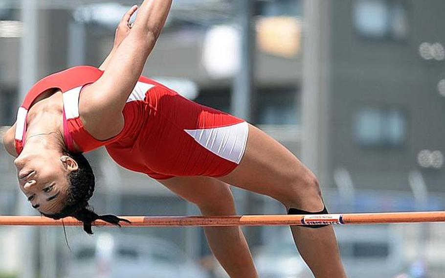 Nile C. Kinnick senior Exotica Hall plans to chase the northwest Pacific high jump mark of 1.67 meters; she reached 1.65 last spring.