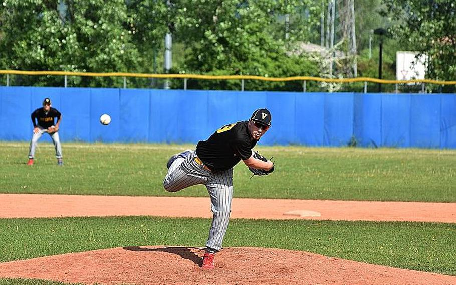 Pitcher Brian Palmer and the Vicenza Cougars play host to two distant Division I opponents this weekend. The Naples Wildcats and Kaiserslautern Raiders visit Vicenza on Friday and Saturday as the scope of DODEA-Europe???s regular season continues to expand.