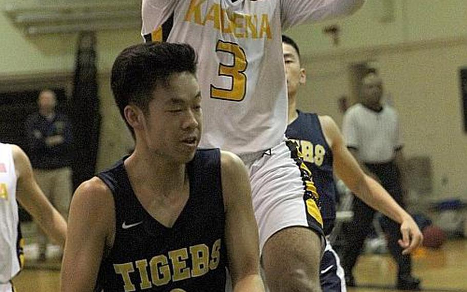 Casey Cox and Kadena won both of their games last year against Taipei American's boys basketball team. The Tigers return this weekend for the annual Taipei Basketball Exchange against the Panthers and Kubasaki.