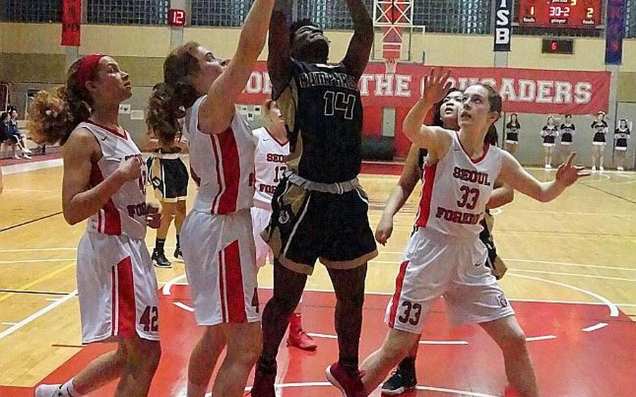Acacia May and Humphreys' girls basketball team is among the record 27 teams headed to the fifth American School In Japan Kanto Classic basketball tournament, the largest field of teams in one location since the Far East Division I Tournaments on Guam in February 2011.