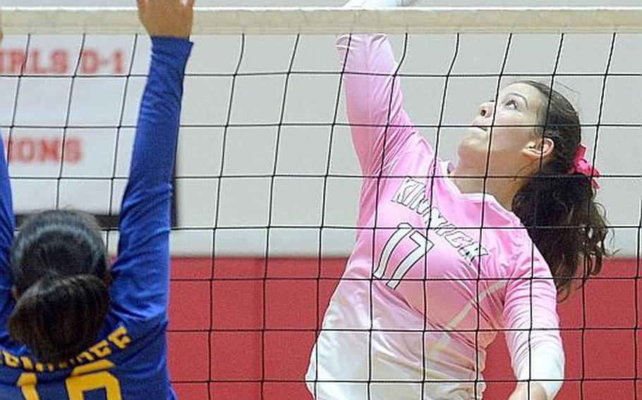 Madelyn Gallo, a senior volleyball player for Nile C. Kinnick, has been named DODEA-Pacific's high school girls Athlete of the Year for school year 2019-20.
