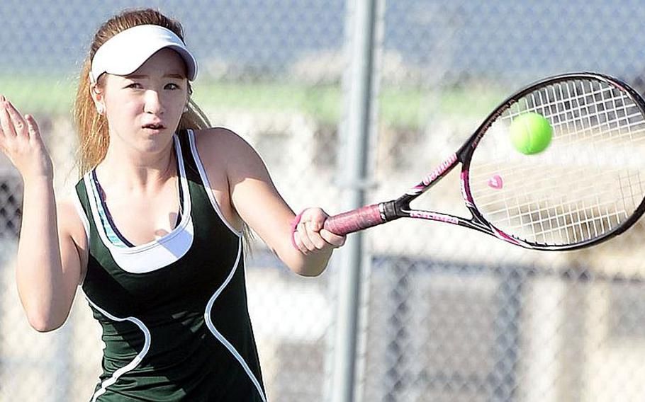 Robert D. Edgren's Jenna Mahoney might have a chance to make it three straight DODEA-Japan girls singles tennis titles, but as far as improving on her ninth-place Far East finish of a year ago, that is likely out the window as long as health protection conditions remain as they are due to the coronavirus pandemic.