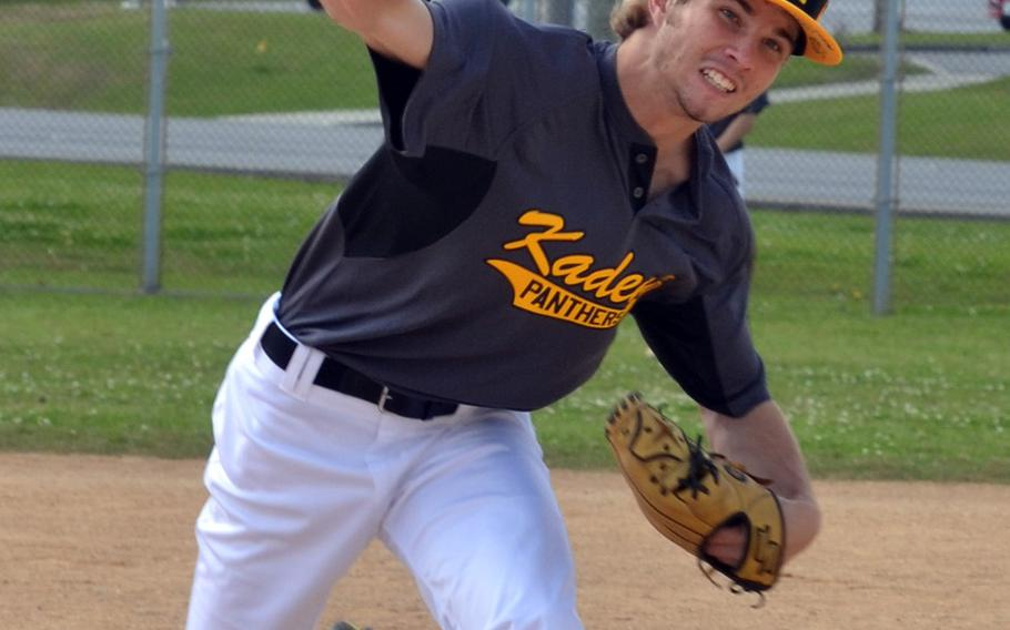 Kadena Panthers senior right-hander Justin Sego would like to exit his career with a Far East Division I baseball tournament title that has eluded the Panthers in four finals appearances, all defeats.