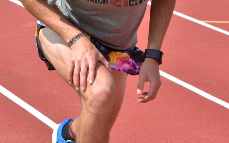 Junior Hunter Ficenec headlines Kadena's boys distance runners.