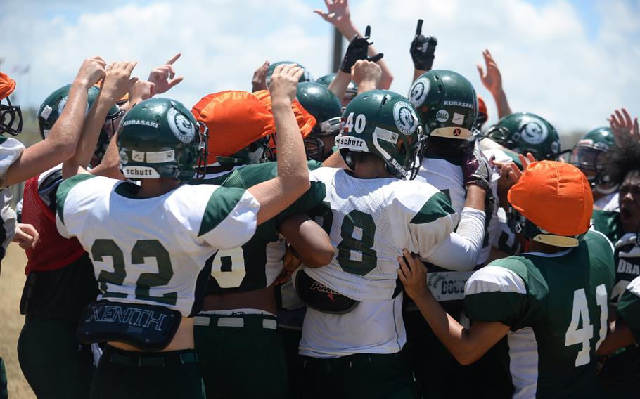 Kubasaki is hoping to return to the Far East Division I football title game for the sixth time in seven seasons.