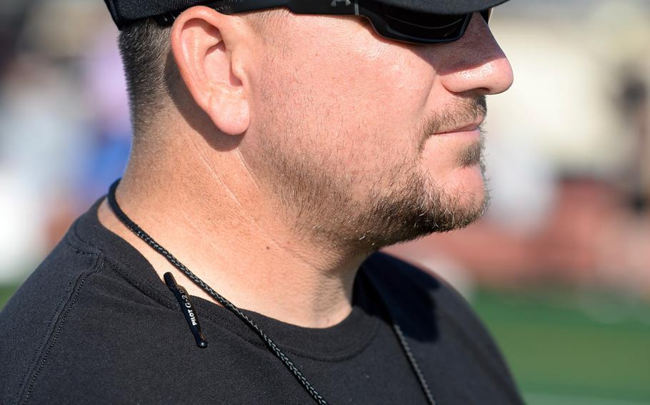 Steve Elliott is in his second year as Humphreys' football  coach.