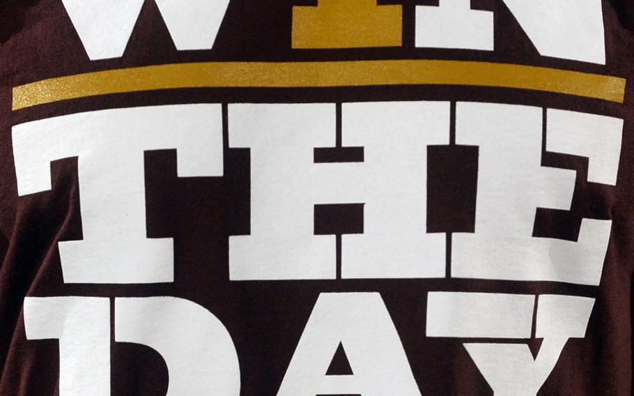 Matthew C. Perry football's team motto.