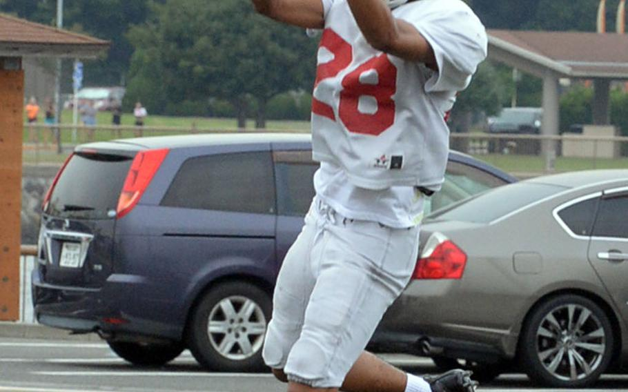 Sophomore Chris Watson returns as a wide receiver for the Red Devils.