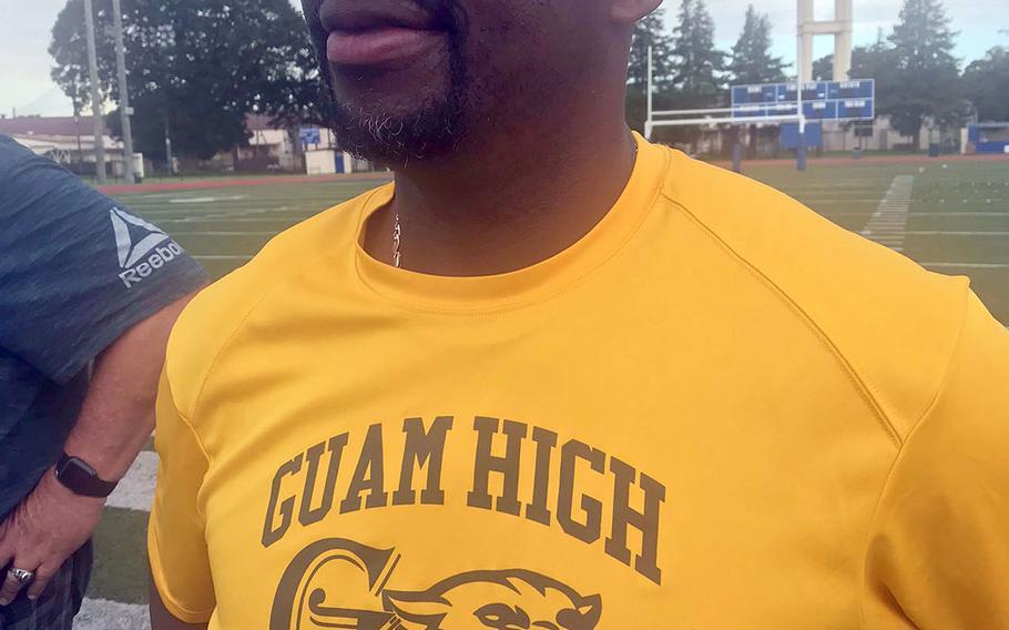 Ninth-year Guam High head football coach Jacob Dowdell faces a rebuilding season.