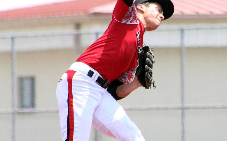 Leo Schinker likely won't get the chance to play his senior baseball season at E.J. King; DODEA-Japan schools are limited to conditioning and skills development due to the coronavirus pandemic.