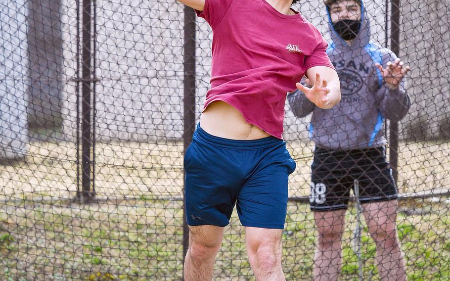 Junior Kai Harbert returns and will handle throws for Yokota's track and field team.