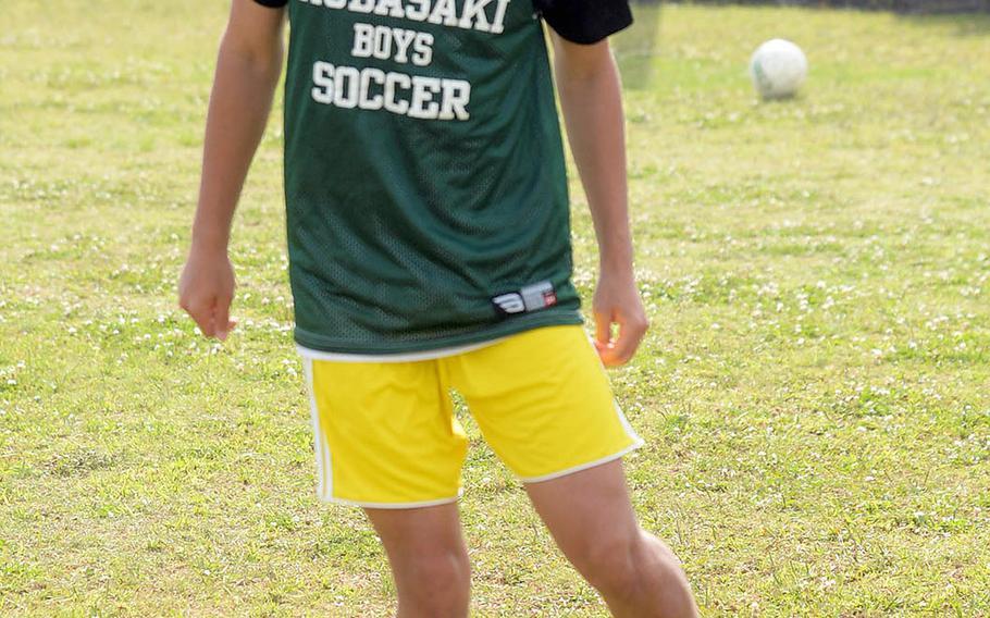 Kai Croghan is one of six seniors returning to a veteran-laden Kubasaki boys side.