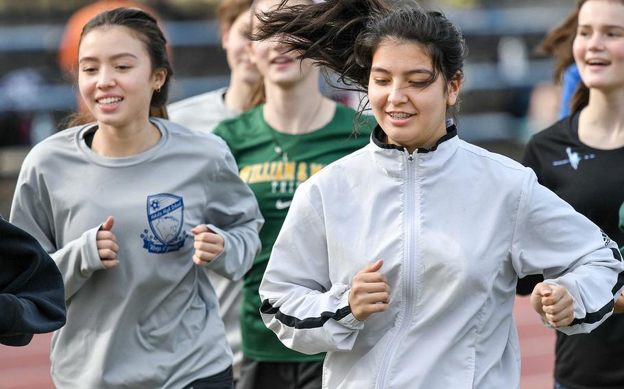 Juniors Hana Vogeley and Keiya Carlson are among six players returning from Yokota's girls soccer's 2019 team for the DODEA-Japan season that starts Saturday.