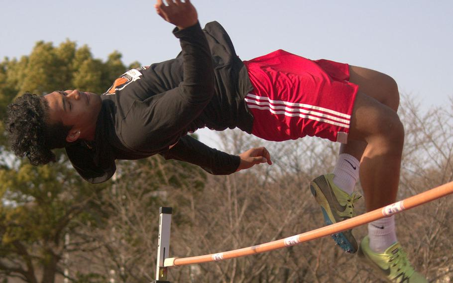 Zama junior Keshawn McNeill is the reigning Far East Division II and overall high jump champion from 2019 and returns to the Trojans team set to start their season Saturday at Yokota.
