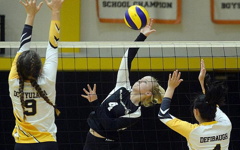 Zoey Weidley and Humphreys girls volleyball team will get the chance to play this fall, after the base command submitted a proposal that was approved by DODEA-Pacific.