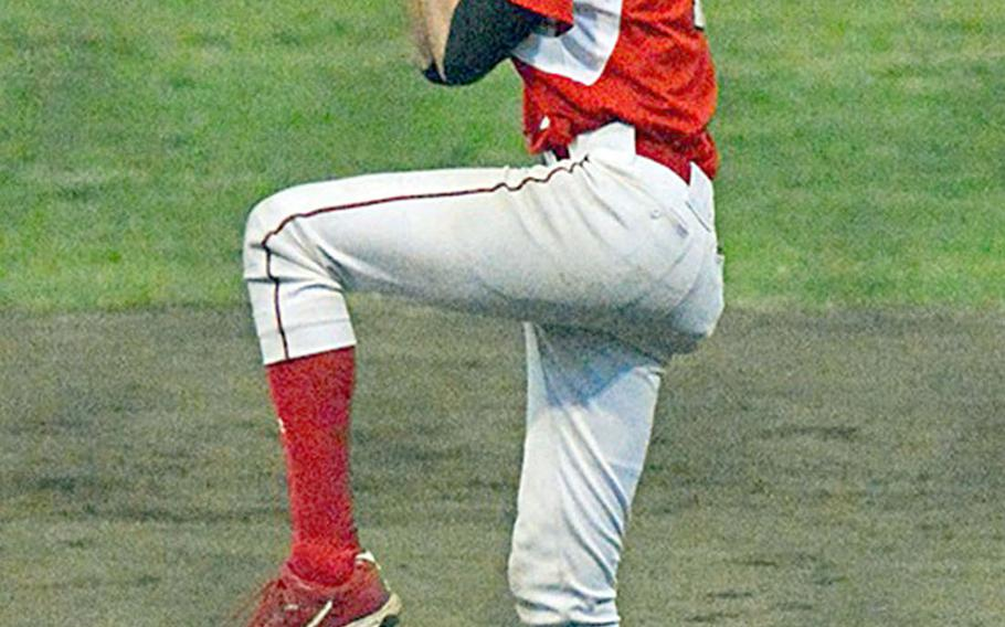 Former Nile C. Kinnick right-hander Daniel Ross, taken in the 39th round of the Major League Baseball draft by the Pittsburgh Pirates organization.