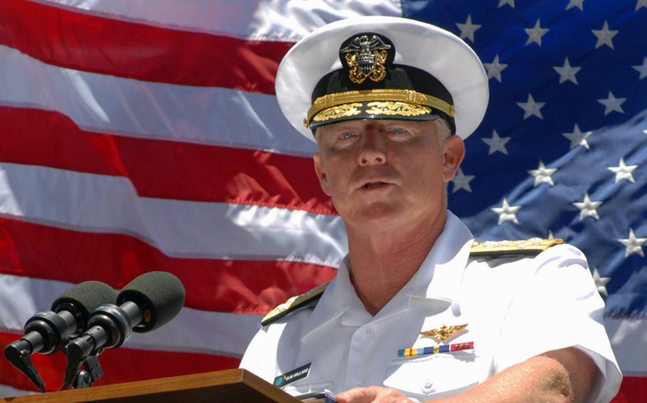 Adm. Robert F. Willard, commander of U.S. Pacific Command