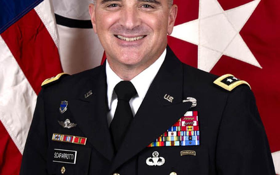 Lieutenant General Curtis M. Scaparrotti