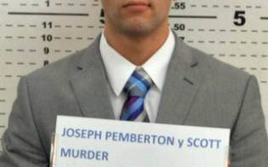 U.S. Marine Pfc. Joseph Scott Pemberton is charged in the Oct. 11, 2014, killing of Jennifer Laude in the Philippines.