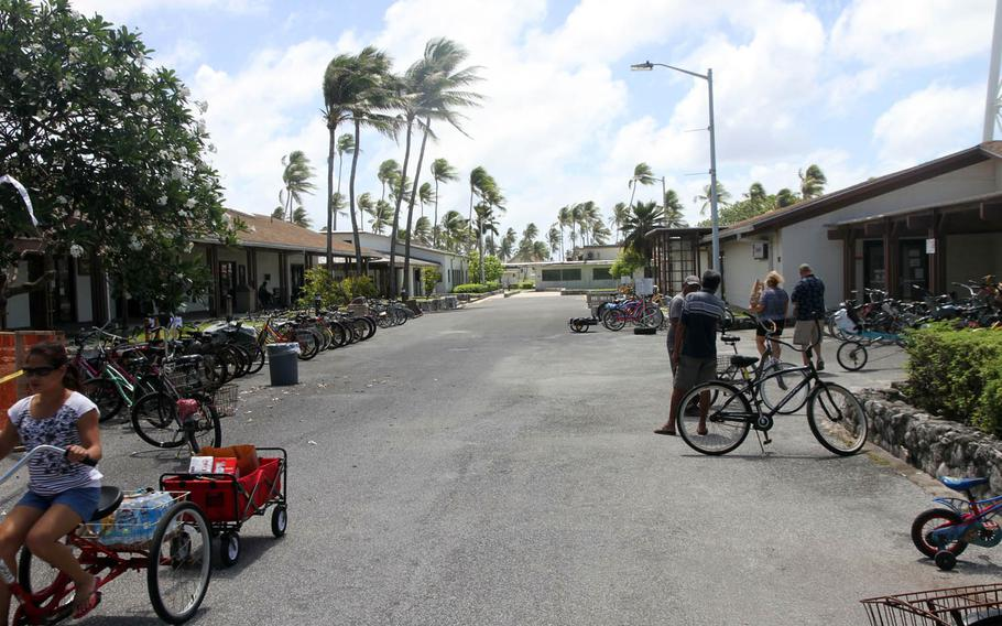 Kwajalein Island, home to the Ronald Reagan Ballistic Missile Defense Test Site, has about 1,300 inhabitants who are mostly Defense Department contractors.