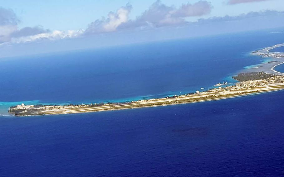 Kwajalein, a speck of an Army base in the Pacific Ocean, is home to the Ronald Reagan Ballistic Missile Defense Test Site and about 1,300 inhabitants.