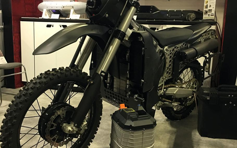 Logos Technologies is developing an electric dirt bike known as the SilentHawk for the Defense Advanced Research Projects Agency.