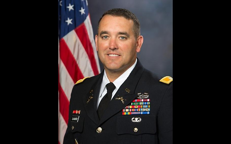 Army Reserve Col. Kirk Slaughter.