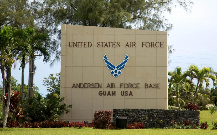 Andersen Air Force Base is one of two major U.S. military installations on the island territory of Guam.