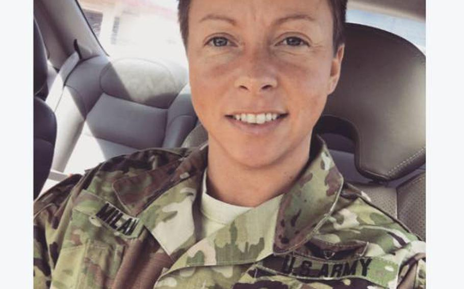 Staff Sgt. Abigail R. Milam, 33, of Jenkins, Ky.