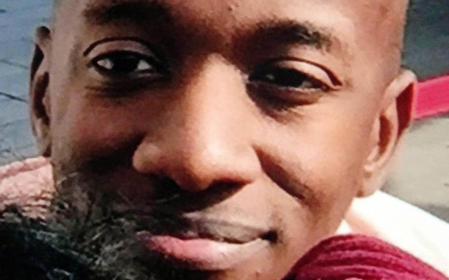 Kenneth Franklin Gadson was given life in prison for the slaying of 20-year-old Okinawan office worker Rina Shimabukuro, Friday, Dec. 1, 2017.