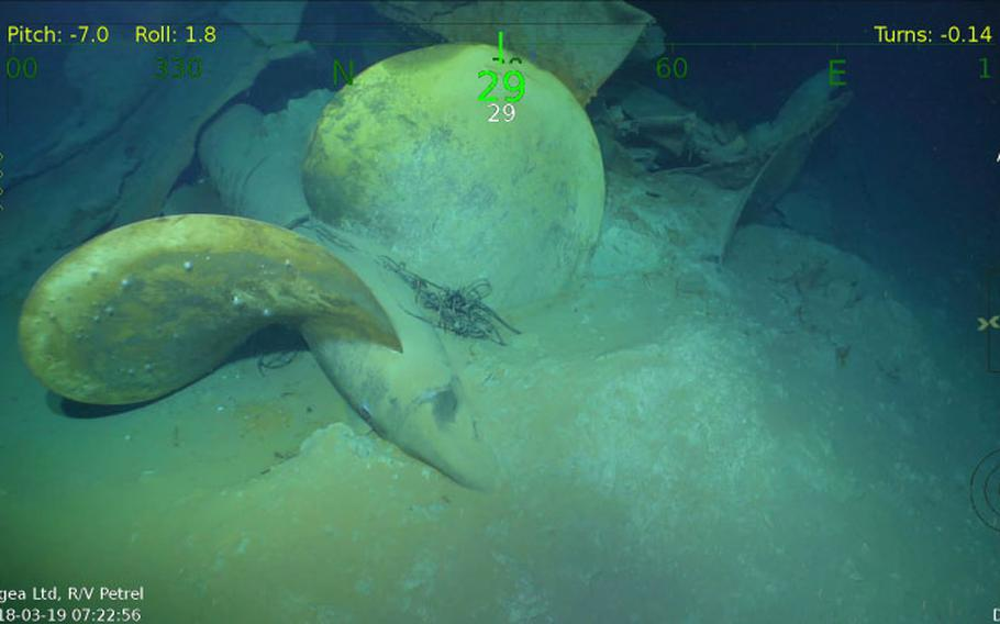 The wreckage of the USS Juneau, sank by the Japanese in 1942, was recently discovered more than two miles below the surface off the Solomon Islands.