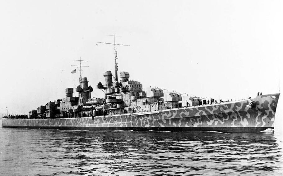 The USS Juneau become a symbol of wartime sacrifice after it was sunk by a Japanese torpedo during the Battle of Guadalcanal in 1942.