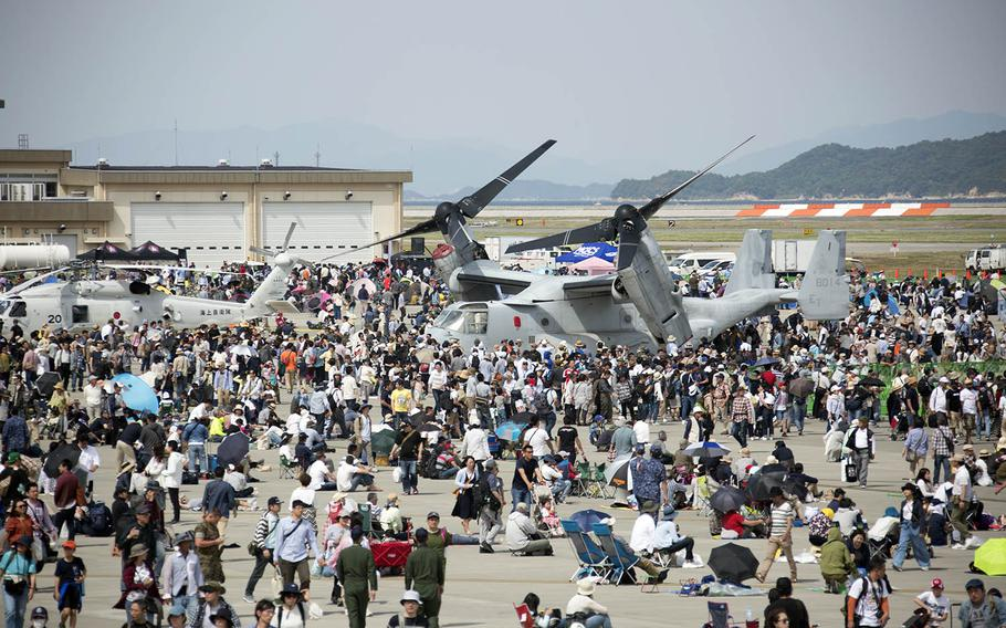 The 42nd annual Friendship Day attracted more than 215,000 people to Marine Corps Air Station Iwakuni, Japan, Saturday, May 5, 2018.