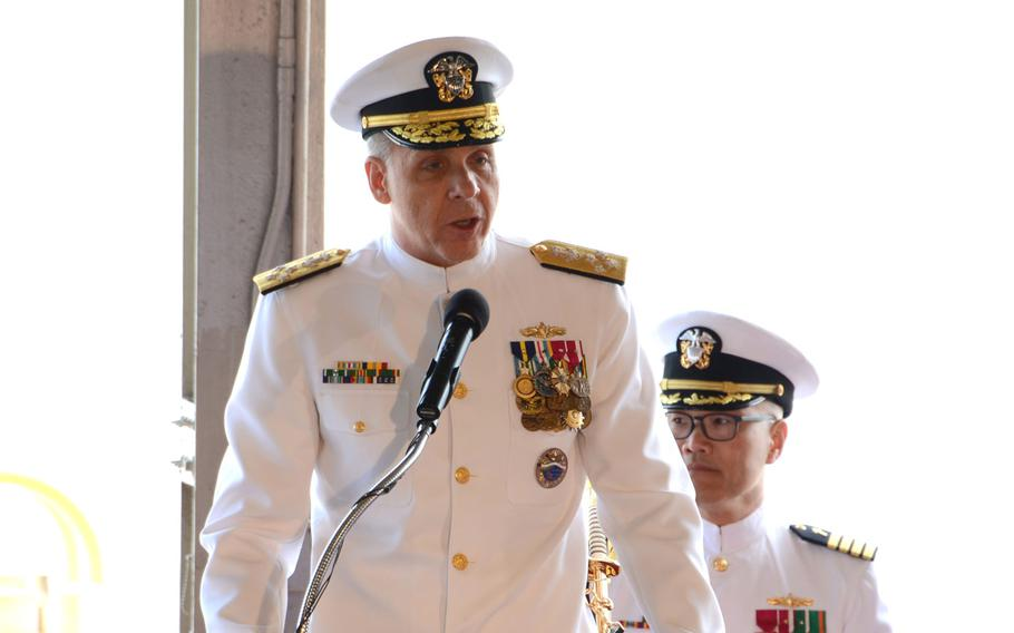Adm. Philip S. Davidson became the 25th commander of U.S. Pacific Command during a ceremony at Joint Base Pearl Harbor-Hickam, Hawaii, May 30, 2018. The combatant command has been renamed Indo-Pacific Command.