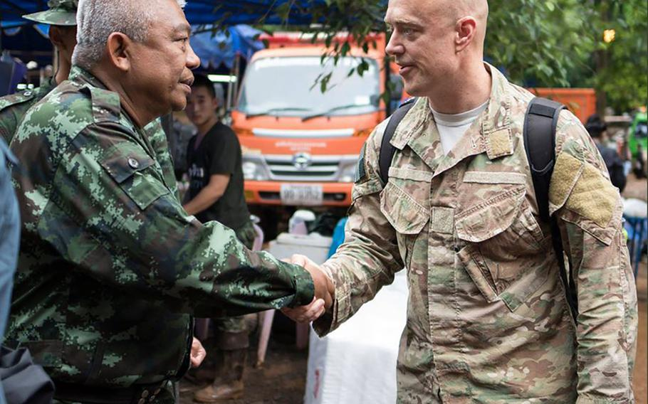The U.S. sent a search and rescue team to assist with the #ThailandCaveRescue. The men and women of the 353rd Special Operations Group have been directly supporting this international mission for almost two weeks.
