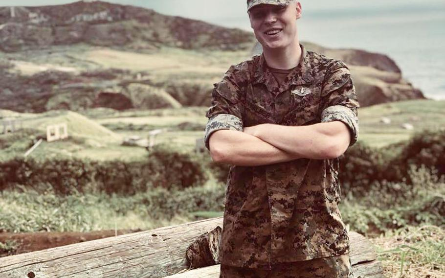 """Navy Seaman Shaun Palmer, a hospital corpsman, had failed to report for duty at Marine Corps Base Hawaii on July 1 and was classified as an """"unauthorized absence"""" on July 2, the Marine Corps said."""