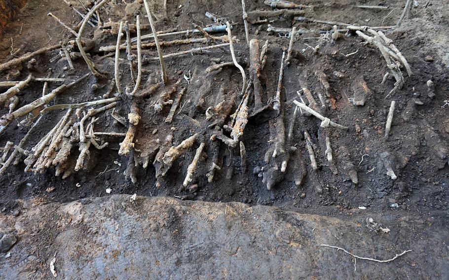 Firearms, swords and ammunition believed to be from World War II were recently discovered buried beneath an elementary school playground in western Tokyo.